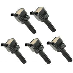 06-12 Chevy, GMC, Hummer, Saab Mid Size PU, SUV w/2.9L, 3.7L, 4.2L Ignition Coil (set of 5)