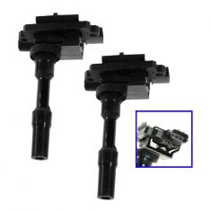 99-01 Firefly, Metro; 99 Sunrunner w/1.3L; 99-04 Tracker w/1.6L Ignition Coil PAIR