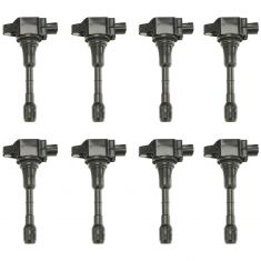 09-11 (thru 10/10) Infiniti FX50 Ignition Coil SET of 8