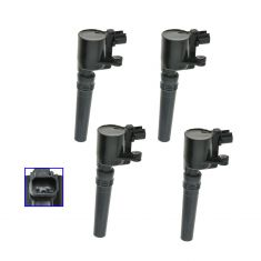 00-06 Ford Jaguar Lincoln Ignition Coil Set of 4