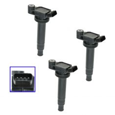 99-06 Lexus & Toyota 6 Cyl Ignition Coil Set of 3