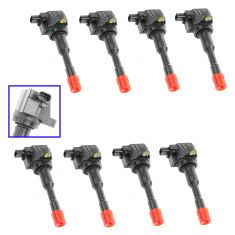 06-10 Honda Civic Hybrid 1.3L Ignition Coil (SET of 8)