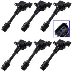 03-09 Infiniti FX G M Series; 03-06 Nissan 350Z Ignition Coil Set of 6