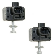 05-06 Escalade; 05-07 Chevy, GMC Full Size PU & SUV Front Impact Airbag Sensor w/Hardware PAIR