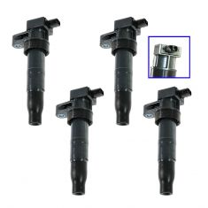 06-11 Hyunda, Kia Multifit w/2.4L, 3.3L, 3.5L, 3.8L Ignition Coil Set (Set of 4)