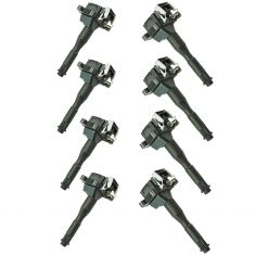 95-03 BMW 3, 5, 7, 8, X, Z Series Plug Mounted Ignition Coil (Delphi) Set of 8