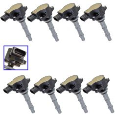 07-08 Sprinter 2500, 3500; 05-01 Mercedes Benz Multifit Ignition Coil Set of 8(Delphi)