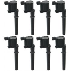97-08 Ford Lincoln Mercury 4.6L 5.4L DOHC Multiuse Ignition Coil (SET OF 8) (MOTORCRAFT)