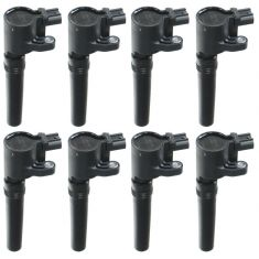 00-06 Ford Jaguar Lincoln Ignition Coil (SET of 8) (MOTORCRAFT)