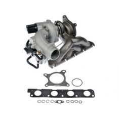 06-08 Passat; 06-09 Gti w/2.0L (w/Eng Design: BPY) Turbocharger w/Gasket Kit (Dorman)