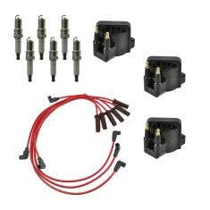 Ignition Coils, Spark Plugs & Wires Kit