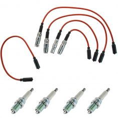 94-01 VW Cabrio Golf Jetta Passat 2.0L Spark Plugs and Wires Kit