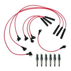 92-95 Toyota 4Runner Pickup T100 3.0L Spark Plugs and Wires Kit