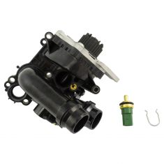 08-17 Audi Volkswagen Multifit 1.8L 2.0L Water Pump w/Housing