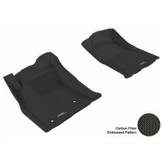 05-11 Tacoma (With 2 retention hooks) Black Front Floor Liner