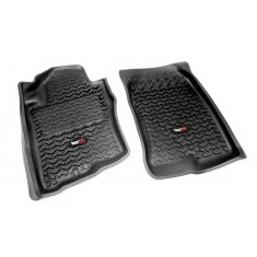 05-12 Nissan Pathfinder; 05-13 Xterra Black Front Floor Liner SET (Rugged Ridge)