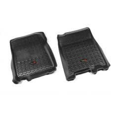 97-03 F150 Reg & Crew Cab Black Front Floor Liner SET (Rugged Ridge)