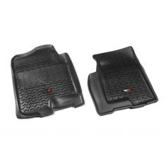 99-06 GM Fullsize Pickup & SUV Black Front Floor Liner SET (Rugged Ridge)