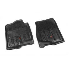 07-14 GM Fullsize Pickup & SUV Black Front Floor Liner SET (Rugged Ridge)