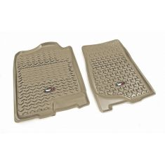 07-14 GM Fullsize Pickup & SUV Tan FrontFloor Liner SET (Rugged Ridge)