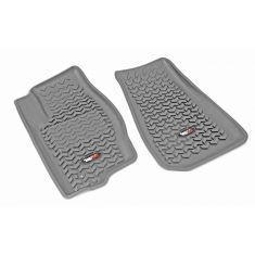 05-10 Jeep Grand Cherokee; 06-10 Commander Gray Front Floor Liner SET (Rugged Ridge)