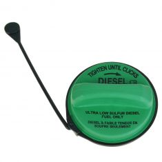 08 (frm 12-4-07)-15 F250SD-F550SD w/6.4L, 6.7L Diesel Green Fuel Tank Gas Cap w/Tether (Motorcraft)