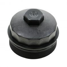 Frame Fuel Filter or Oil Filter Housing Cap & Gasket