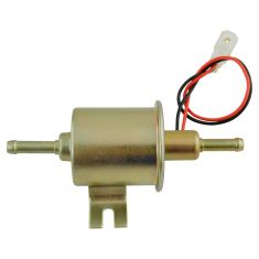 12V Gas liquid Inline Low Pressure (6-9 PSI) Universal Electric Fuel Pump