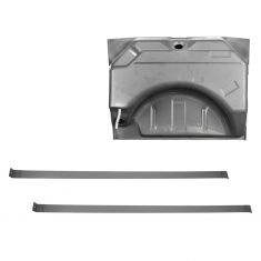 66-67 Charger Belvedere 19 gal Gas Tank & Strap Set