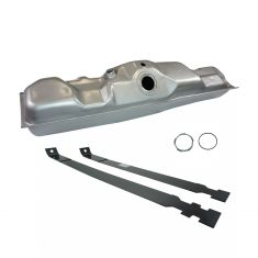 85-86 Ford PU Side Mounted 19 gal Gas Tank & Strap Set