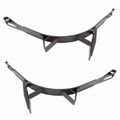 00-11 Freightliner Multifit (w/23 In Dia Rnd Fuel Tank) Gas Tank Strap Front or Rear PAIR (DM)