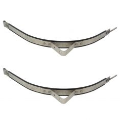 87-11 Kenworth Multifit (w/Stepped 24.50 In Dia Rnd Fuel Tank) Gas Tank Strap Frt or RR PAIR (DM)