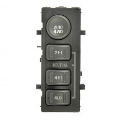 Dash Mounted 4 Wheel Drive Switch for Models with AUTO 4WD