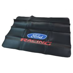 Ford Accessories Black Vinyl ~Ford Racing~ Logoed (27 x 36 Inch) Fender Cover (Ford Racing)
