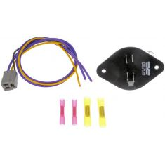 88-94 GM FS SUV, R/V, C/K PU; 92-94 Suburban Heater Blower Motor Resistor Kit with Harness (Dorman)