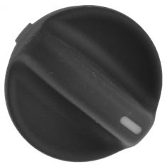 94-97 Honda Accord Molded Black Plastic Temperature or Fan Speed Control Knob (Honda)