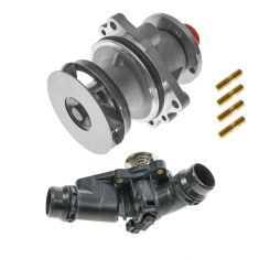 99-06 BMW 3, 5, M, X, Z Series Water Pump $ Thermostat Housing Kit