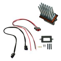 99-04 Jeep Grand Cherokee w/ATC Blower Motor Resistor & Wiring Harness Upgrade Kit (Mopar)
