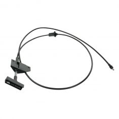 1983-94 Chevrolet & GMC S Series Trucks Hood Release Cable with Handle