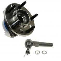 97-01 Buick, Chevy, Olds Multifit Wheel Hub & Outer Tie Rod Kit LF=RF