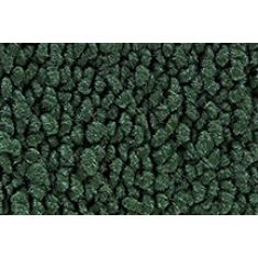 66 Chevrolet Corvette Cargo Area Carpet 08 Dark Green