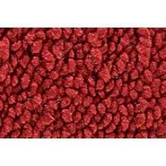 73 Chevrolet Blazer Passenger Area Carpet 02 Red
