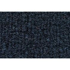 88-91 Honda Civic Passenger Area Carpet 7130 Dark Blue