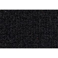 96-02 GMC Savana 1500 Passenger Area Carpet 801 Black