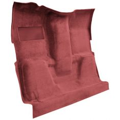 74 Chevrolet K20 Pickup Complete Carpet 7039 Dk Red/Carmine