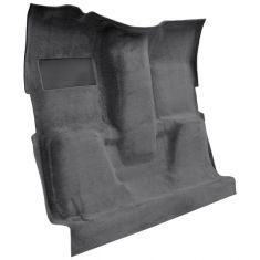 73 Chevrolet K20 Pickup Complete Carpet 01 Black