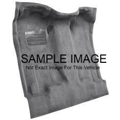 70-73 Jeep J-4600 Complete Carpet 01 Black
