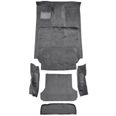 91-97 Toyota Land Cruiser Complete Carpet 801 Black