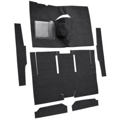60-65 Ford Ranchero Complete Carpet 01 Black