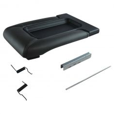 99-07 GM FS Pickup, SUV w/Front Row Split Bench Dark Gray Console Lid Repair Kit